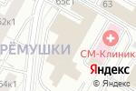 Схема проезда до компании РемонтСНИП в Москве