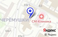 Схема проезда до компании МОСКОВСКОЕ ПРЕДСТАВИТЕЛЬСТВО КОНСАЛТИНГОВАЯ ФИРМА BBI в Москве