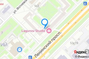 Двухкомнатная квартира в Москве м. Воробьевы Горы, Ленинский проспект, 52