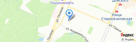 Бутово-8 на карте Москвы