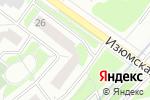 Схема проезда до компании Dez-Mos в Москве