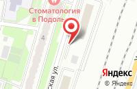 Схема проезда до компании Мясницкий ряд в Подольске