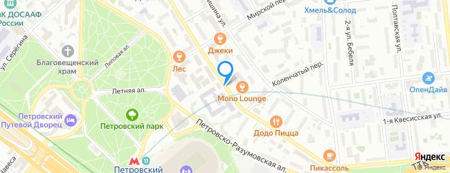 улица Верхняя Масловка