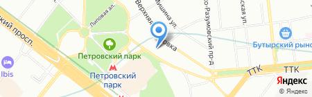 Полиграфжилстрой на карте Москвы