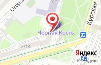 Схема проезда до компании В халате в Подольске