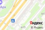 Схема проезда до компании Тайра классик в Москве
