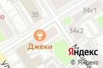 Схема проезда до компании Jacky Jacky в Москве