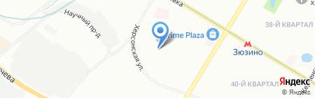 Школа №15 с дошкольным отделением на карте Москвы