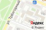 Схема проезда до компании СБК-Престиж в Москве
