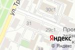 Схема проезда до компании Косметик Центр в Москве