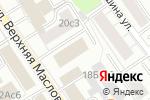Схема проезда до компании Hardsnowboard в Москве