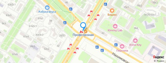 метро Профсоюзная