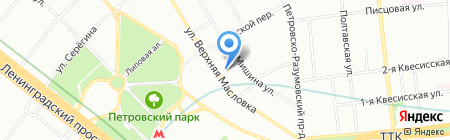 Наш Градъ на карте Москвы