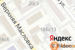 Схема проезда до компании Наш Градъ в Москве