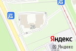 Схема проезда до компании АКБ Ирс в Москве