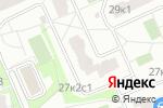 Схема проезда до компании Алегрис в Москве