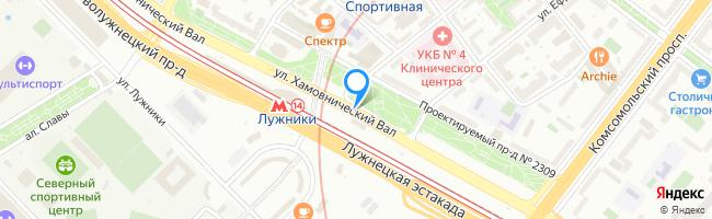 улица Хамовнический Вал