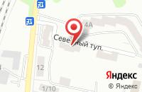 Схема проезда до компании Константа в Подольске