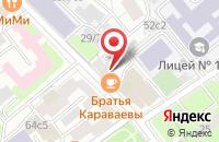 Схема проезда до компании Телетрест в Москве