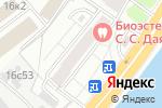 Схема проезда до компании Новый Интерьер в Москве