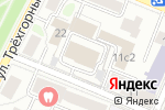 Схема проезда до компании InLove studio в Москве