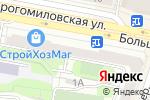 Схема проезда до компании Касса по продаже авиа и железнодорожных билетов в Москве