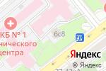 Схема проезда до компании Храм Дмитрия Прилуцкого Вологодского на Девичьем поле в Москве