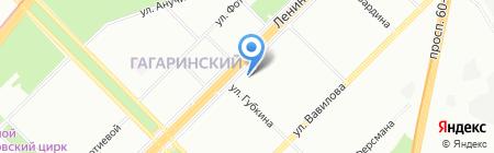Кондиционеры на карте Москвы