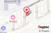 Схема проезда до компании Бородино в Подольске