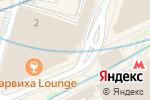 Схема проезда до компании Киевский в Москве