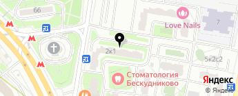Thule на карте Москвы