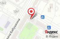 Схема проезда до компании Международный Центр Устойчивого Энергетического Развития в Москве
