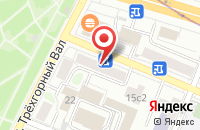 Схема проезда до компании Инвеко в Москве