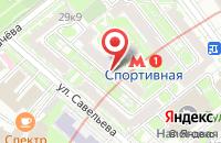 Схема проезда до компании Здоровье-Жизнь в Москве
