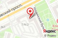 Схема проезда до компании Штерн в Москве