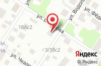 Схема проезда до компании Симко в Москве