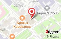 Схема проезда до компании Асна-Трейд в Москве