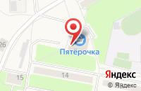 Схема проезда до компании Пятёрочка в Плеханово