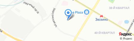Московская экспериментальная школа на карте Москвы