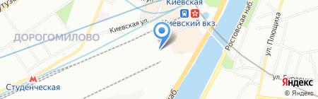 РусЖелСервис на карте Москвы