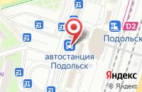Схема проезда до компании Анком в Подольске