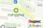 Схема проезда до компании Юна Вита в Москве