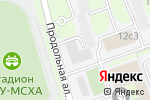 Схема проезда до компании Шевалье в Москве