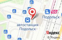 Схема проезда до компании Флокс в Подольске