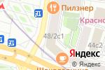 Схема проезда до компании Sisley в Москве