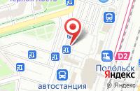 Схема проезда до компании Евросеть в Подольске