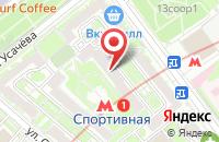 Схема проезда до компании Техстройинвест в Москве