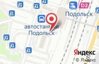 Схема проезда до компании Кружка в Подольске