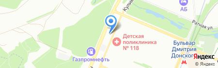СпецТех на карте Москвы