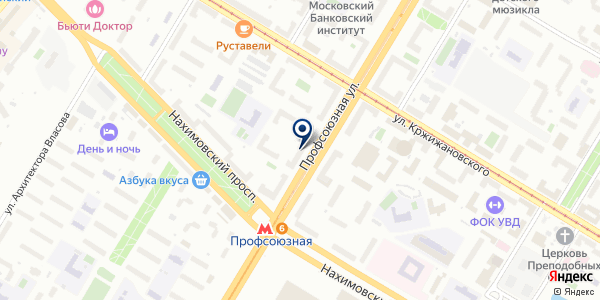 ЖКХ ВЕСТА на карте Москве